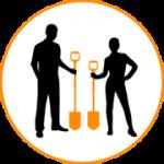 Прави лопати за всеки