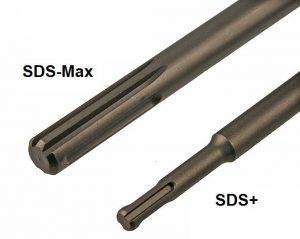 Захвати за къртачи SDS-Max vs SDS plus