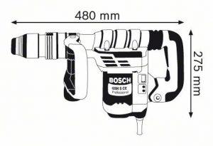 Къртач Bosch GSH 5 CE схема
