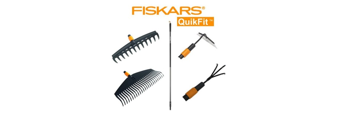 Система сменяеми градински инструменти QuikFit™FISKARS