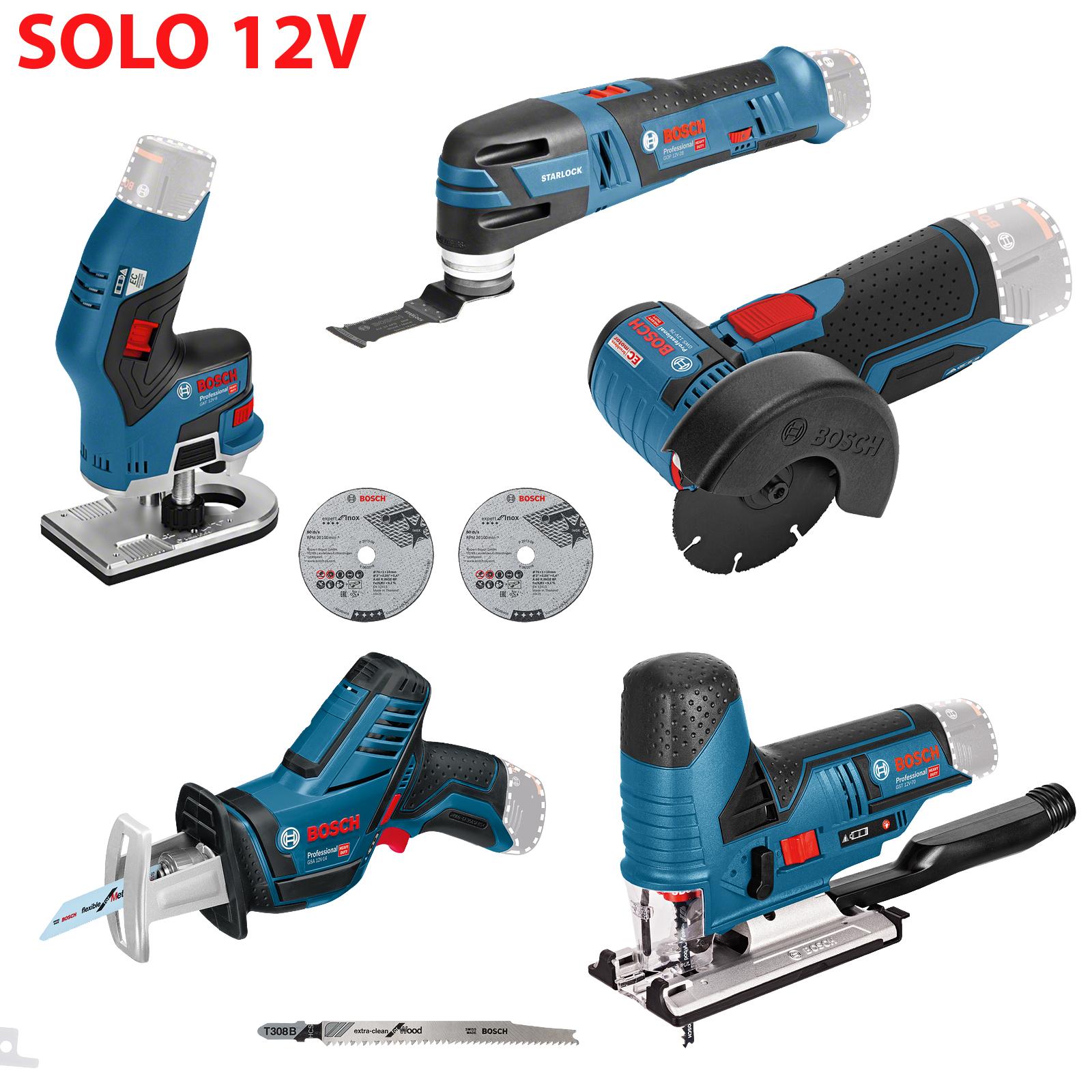 SOLO инструменти 12V  BOSCH Professional