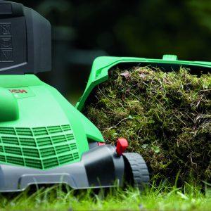 аератор за трева с торба за събиране на отпадъка