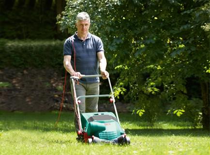 Аератор за трева - това е инструмент, който се използва за обработване на тревата, като премахва мъртвите стъбла и нарушава горния почвен слой, за да аерира корените