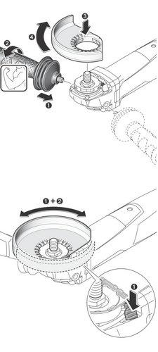 Конструкция на ъглошлайф