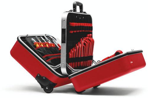 Куфар за инструменти Knipex с колела