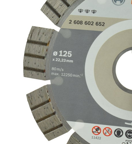Диамантен диск с турбо сегменти