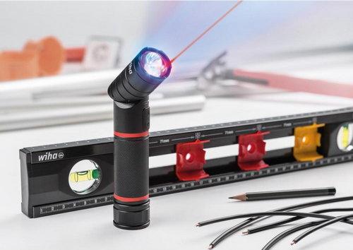 Фенер LED с лазер и UV