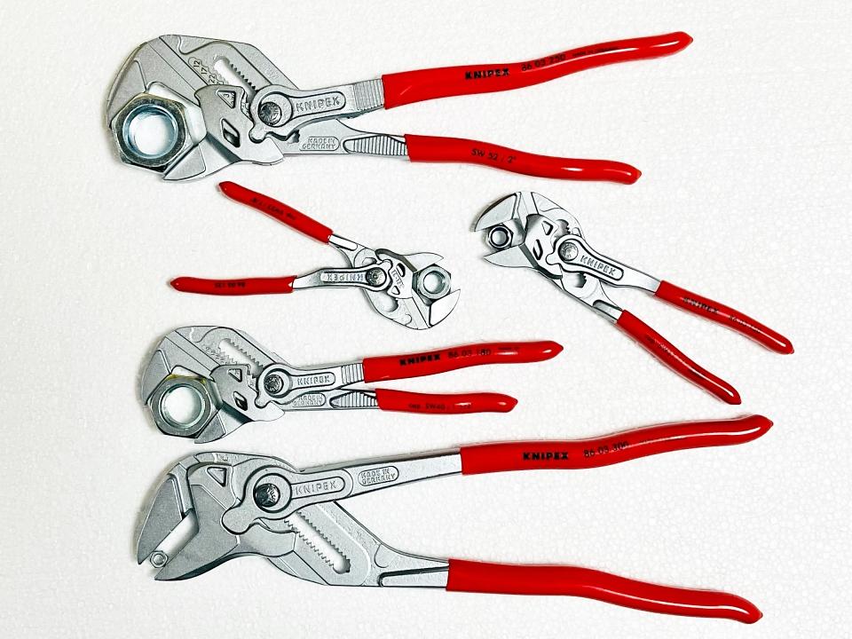 Клещи раздвижни гаечен ключ Книпекс