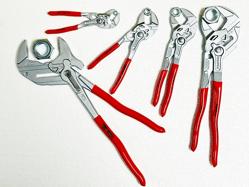 Клещи раздвижни тип гаечен ключ Knipex