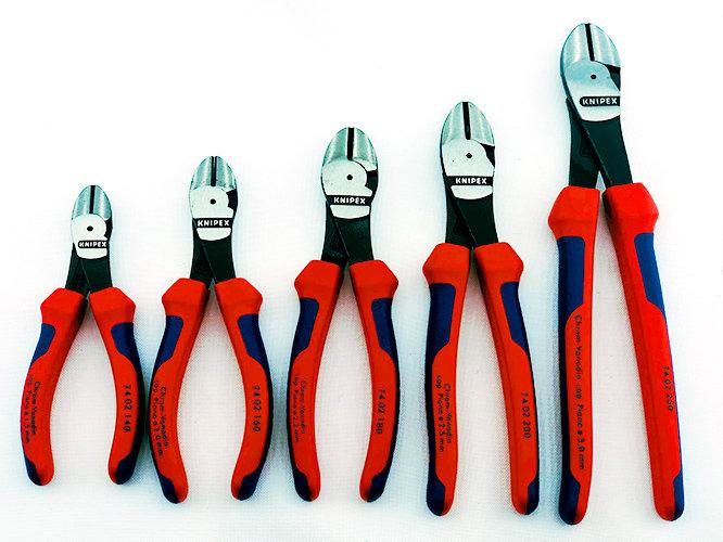 Клещи резачки KNIPEX - мощни усилени