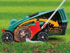 Косачка за трева - принцип на работа