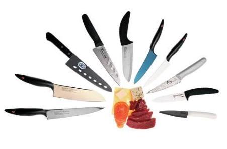 Видове кухненски ножове