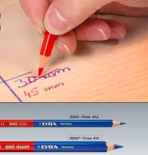 Моливи двуцветни