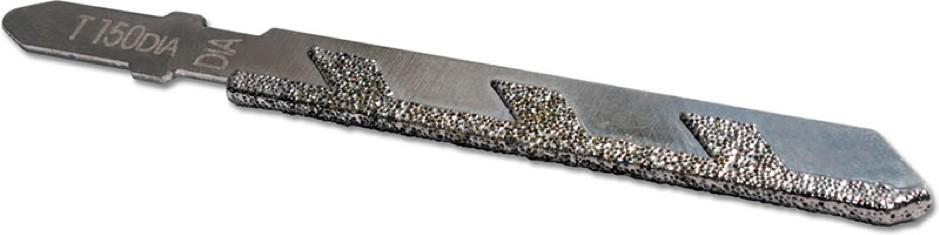 Ножове за прободни триони, предназначени за стъкло и керамика, са изработени от особено здрави сплави и имат диамантено покритие по режещите ръбове или по-често покритие от волфрамов карбид