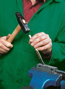 Работа с ръчен секач