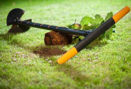 Дупка със свредло за почва